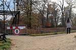 Dva dřevěné mostky v přerovském parku Michalov, které byly napadeny hnilobou, čeká výměna do konce května.
