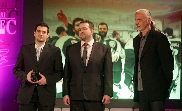 KOLEKTIV – DOSPĚLÍ  1.HC ZUBR Přerov (lední hokej). Vyhlášení Nejúspěšnějšího sportovce roku 2015vPřerově