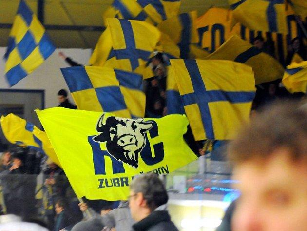 Fanoušci Zubrů. Ilustrační foto