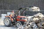 Archeologický záchranný výzkum a rekonstrukce renesančního paláce na hradě Helfštýně