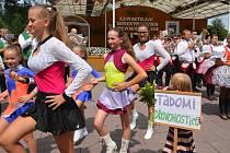 Na tradiční Setkání dechových hudeb zamířily o víkendu do Dřevohostic davy lidí.