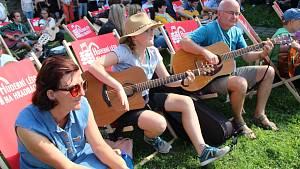 Setkání kytaristů na přerovských hradbách, 11. září 2021