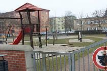 Dětské hřiště v Jasínkově ulici v Přerově. Ilustrační foto