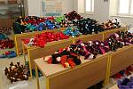 V lipnické výrobně hraček Noe místo hraček šijí roušky.