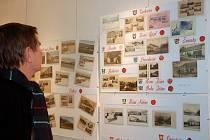 Unikátní výstava dobových pohlednic v prostorách městské galerie v Přerově