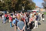 Dny evropského dědictví v Přerově. Průvodcem prohlídek města byl historik Petr Sehnálek