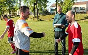 Fotbaloví veteráni nad 40 let, se v pátek utkali v krajském finále v Prosenicích na Přerovsku. 10.5. 2019