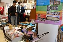 Vernisáž otevřela poutavou výstavu hraček ve Veselíčku