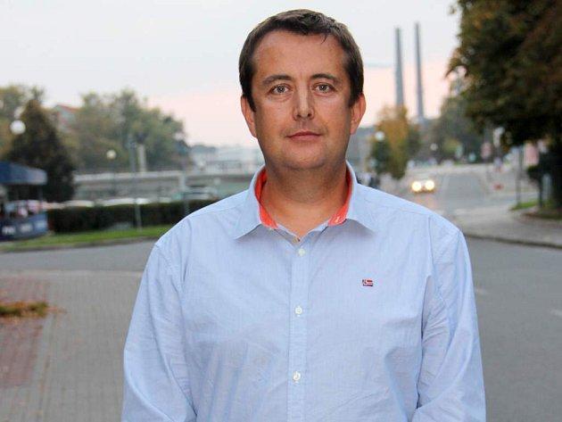 Lídr hnutí ANO vPřerově Petr Vrána