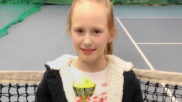Přerovská tenistka Klaudie Huťková