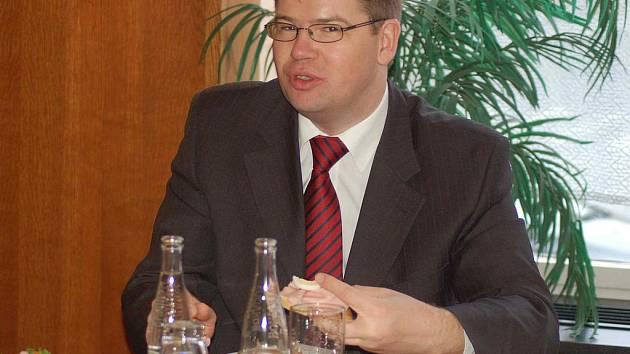 Ministr Jiří Pospíšil v Přerově