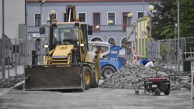 Oprava Kratochvílovy ulice v Přerově
