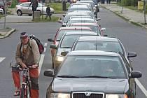 Doprava v Přerově. Ilustrační foto