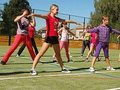 Nový sportovní areál v Dřevohosticích