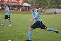 Kozlovičtí fotbalisté v akci