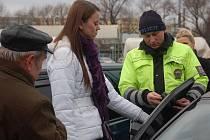 Měření propustnosti autoskel v Přerově