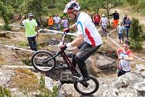 Pavel Procházka. Přerovští biketrialisté zářili na ME v Sardinii