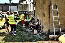 V Přerově se přiotrávili dělníci, nehoda se stala v areálu soukromé firmy v Kojetínské ulici