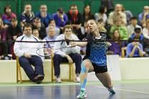 Přerovská badmintonistka Zuzana Pavelková na úspěšném mistrovství České republiky.