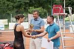 Finále dvouhry turnaje ITF v Přerově s dotací 25 000 amerických dolarů.