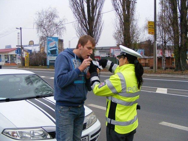 Preventivní policejní akce na Přerovsku
