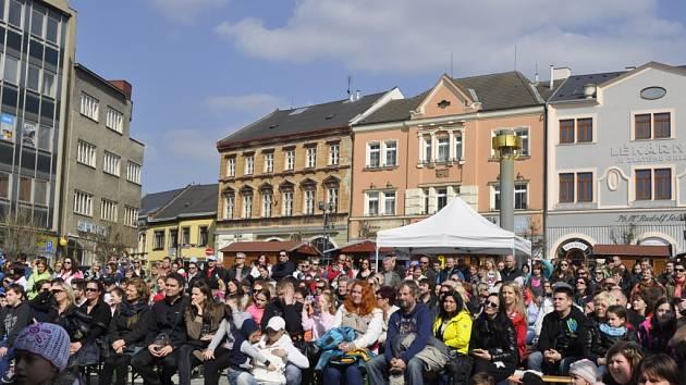 Velikonoční program na náměstí T. G. Masaryka