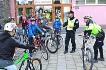 Na kole se během Evropského týden mobility projeli v Přerově žáci i dospělí.
