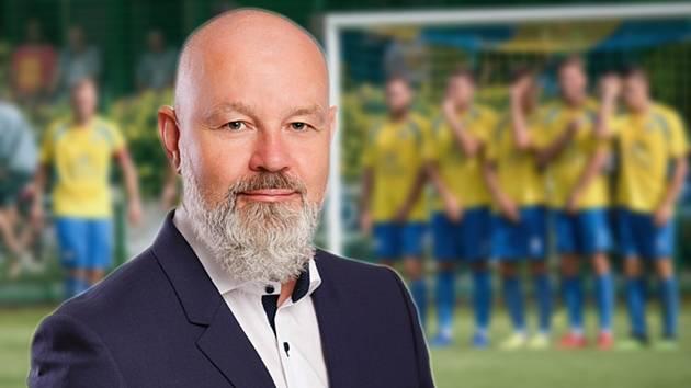 Předseda FK Kozlovice Lubomír Korytko