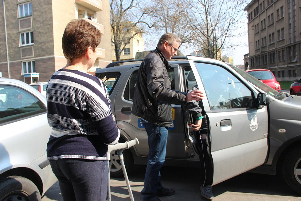 Senior taxi v Přerově