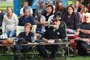 Pohodová nálada vládla v sobotu na osmnáctém ročníku festivalu trampské, folkové a bluegrassové hudby Tovačovský portál.