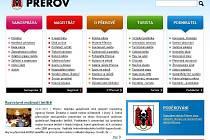 Webové stránky města Přerova
