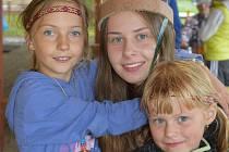 V Hradčanech si děti užily letní tábor a na chvíli se proměnily v indiány