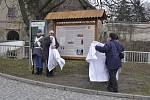 Slavnostní otevření válečné naučné stezky v Tovačově