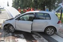 Silně podnapilý řidič zavinil ve středu 19. června nehodu v Želatovské ulici v Přerově.