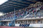 Fotbalové derby mezi domácím Přerovem a Kozlovicemi ovládla 2:1 Viktorka. Utkání sledovalo 524 platících diváků. Foto: Deník/Jan Pořízek