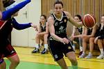 Petra Valentová v dresu přerovských basketbalistek