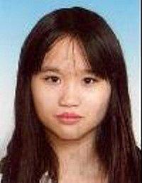 Pohřešovaná vietnamská dívka.