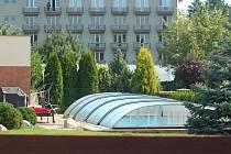 Dům a bazén přerovského primátora a senátora Jiřího Lajtocha v ulici U Žebračky