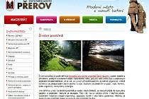 Web města Přerova - životní prostředí