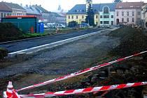 Rekonstrukce náměstí v Kojetíně