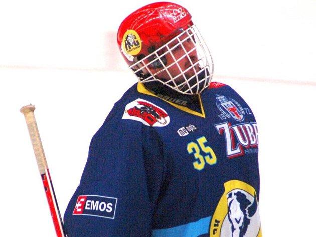 Martin Vojtek, brankářská jednička Zubrů.