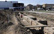 Archeologické vykopávky u přerovského Prioru
