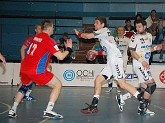 Turnaj O pohár ČT v Přerově: Česko (v bílém) proti Rusku