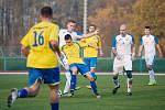 Fotbalové derby mezi domácím Přerovem a Kozlovicemi ovládla 2:1 Viktorka. Foto: Deník/Jan Pořízek