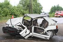 Tragická nehoda u Veselíčka