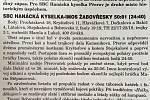 Článek o stříbru přerovských basketbalistek z roku 1999.