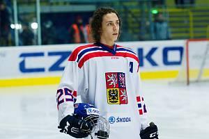 Karel Plášek mladší v dresu reprezentace