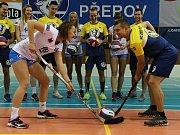 Společně za Přerov a pro děti. Tak nazvali první propojení dvou sportovních klubů volejbalistky a hokejisté HC Zubr.