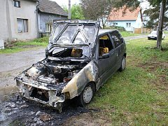 Požár v obci Soběchleby