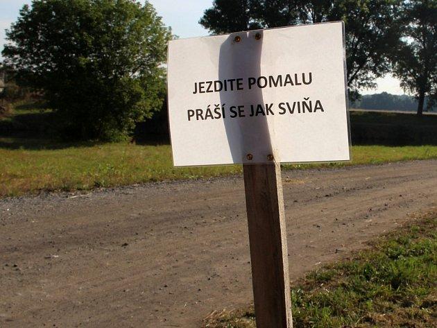 """Vzkaz pro všechny """"závodníky"""" na letošním festivalu dračích lodí v Kojetíně"""